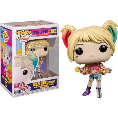 Funko Pop Vinyl - Birds of Prey - Harley Quinn Caution Tape 302