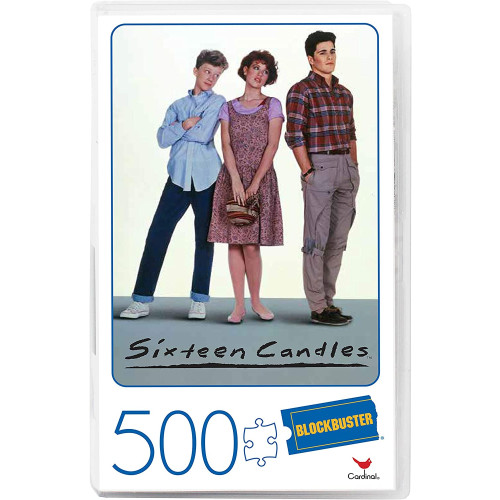 Blockbuster 500pc Puzzle - Sixteen Candles