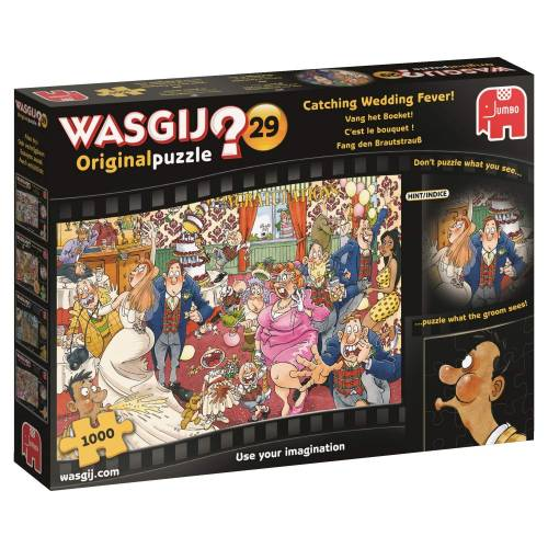 Wasgij? Original 29 1000pc Jigsaw Puzzle Catching Wedding Fever