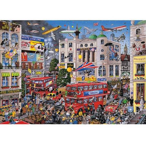 Gibsons I Love London 1000pc