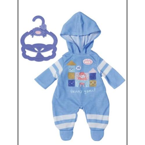 Baby Annabell Blue Romper