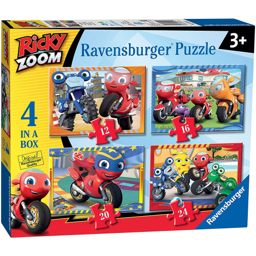Ravensburger 4 Puzzles in a Box Ricky Zoom