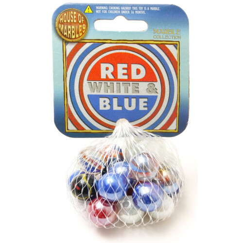 House of Marbles - Red, White & Blue