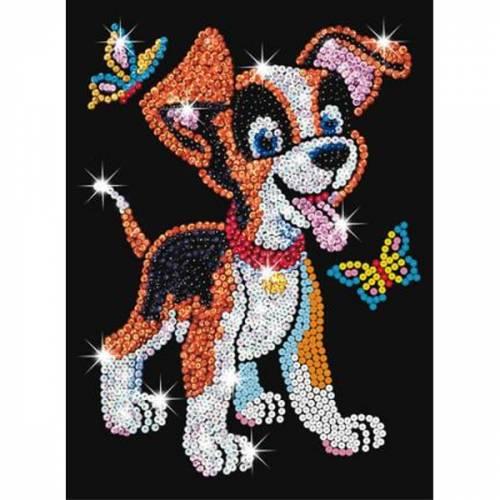 Sequin Art Ltd. Sequin Art Red Oscar the Puppy 0907