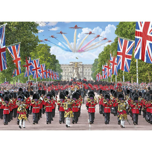 Gibsons Trooping the Colour 1000pc Puzzle