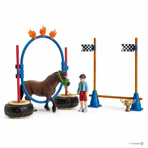 Schleich Farm Life 42482 Pony Agility Race