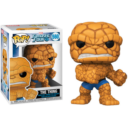 Funko Pop Vinyl - Fantastic 4 - The Thing 560
