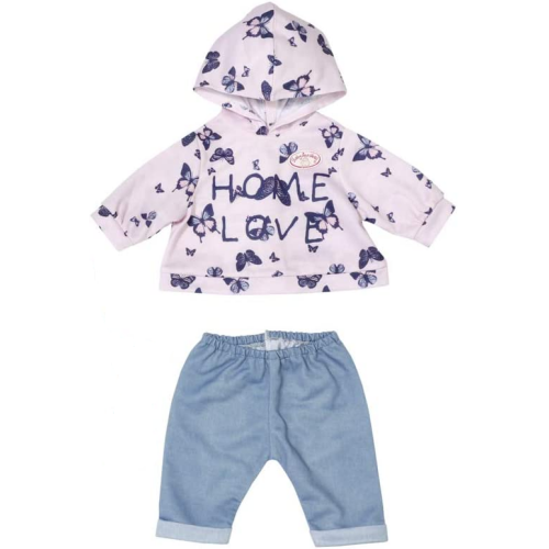 Baby Annabell Pink hoodie & Jogging Bottoms