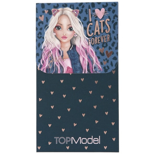 Depesche Top Model Notepad with Magnet Seal - June