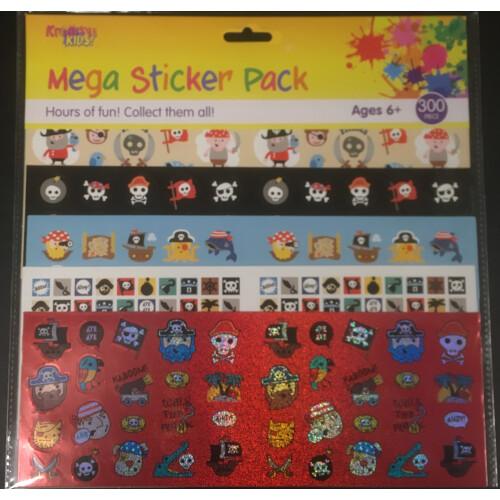 Mega Sticker Pack - Pirates