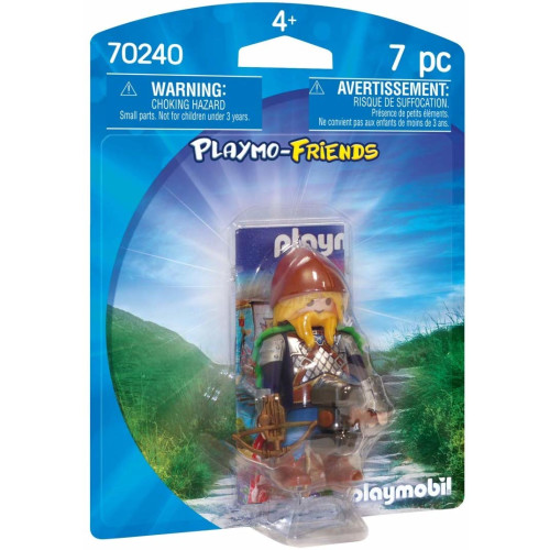 Playmobil 70240 Playmo-Friends Dwarf Fighter with Crossbow