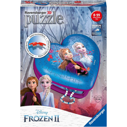 Ravensburger 3D 54pc Puzzle Frozen 2 Heart Box