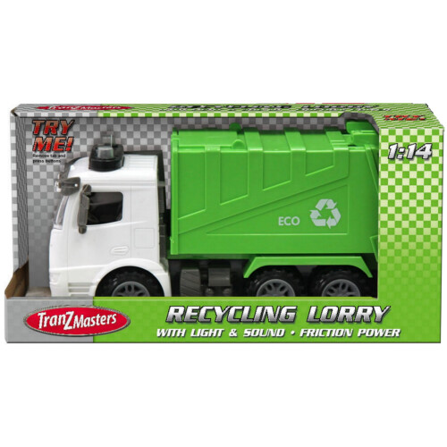 Tranzmasters Recycling Lorry with Lights & Sound