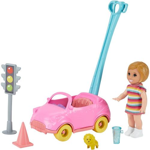 Barbie Skipper Babysitters INC Toddler Doll & Toy Car