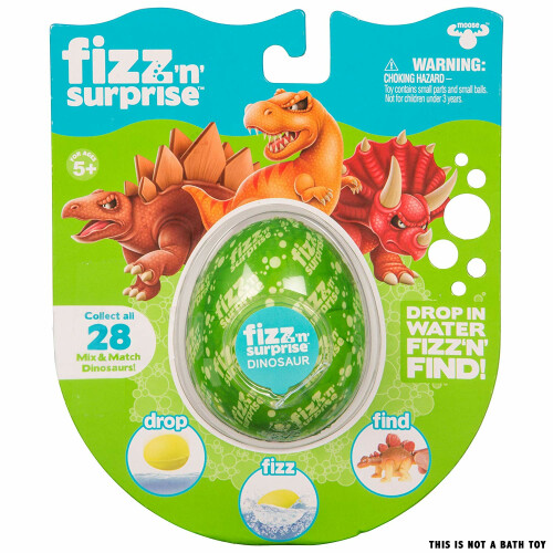 Fizz 'N' Surprise Dinosaur Figure