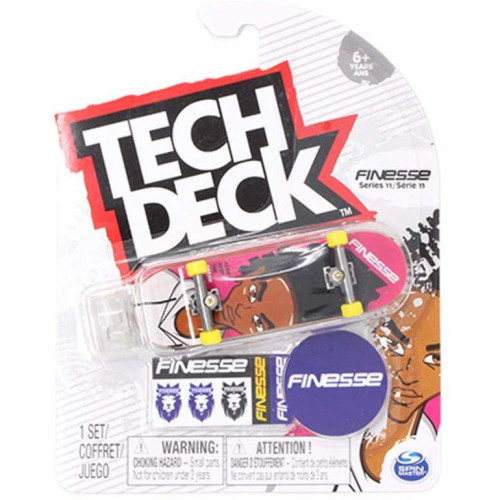 Tech Deck - Series 11 - Finesse Dream Alive Pink