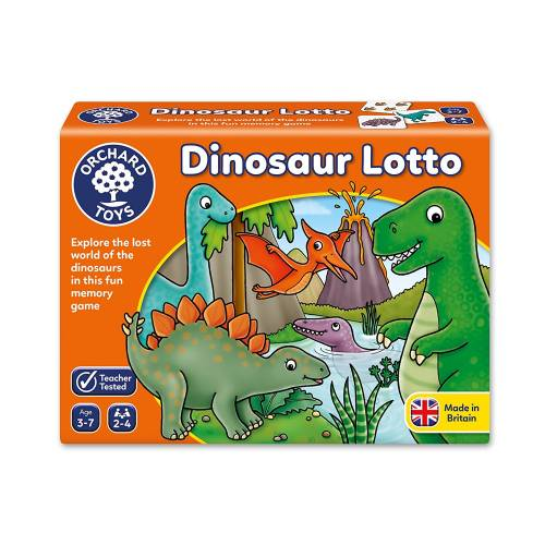 Orchard Dinosaur Lotto Game