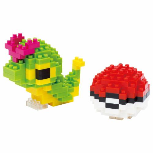 Pokemon Nanoblock Caterpie NBPM-010