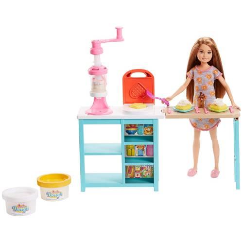 Barbie Stacie Breakfast Set Doll