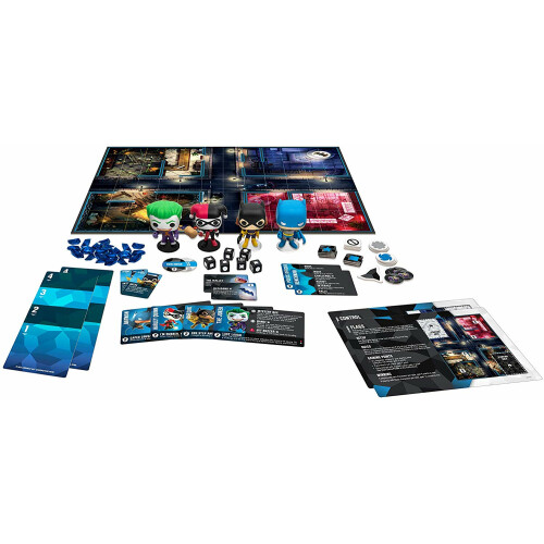 Funkoverse Strategy Game - DC (4 Pack)