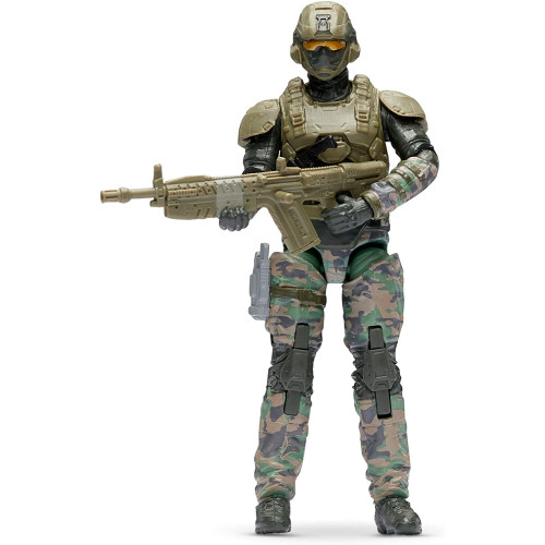 World of Halo - UNSC Marine with Commando Rifle