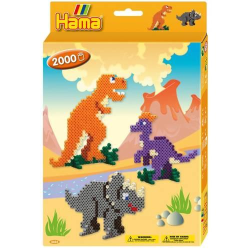 Hama Beads 3434 Gift Box Dinosaur Kingdom