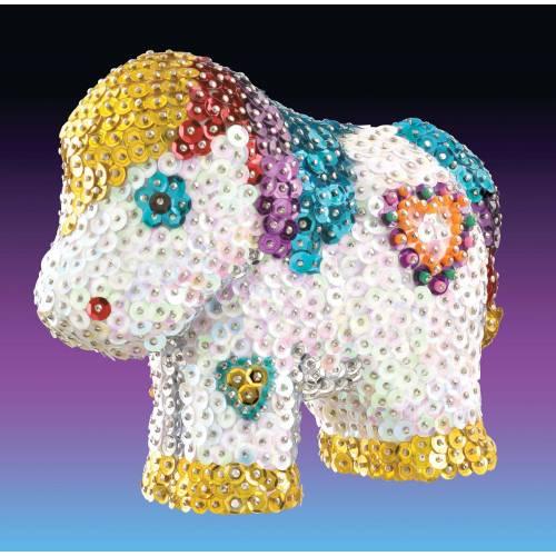 Sequin Art 3D 0923 Pony Art Kit