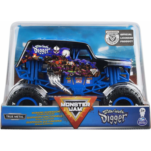 Monster Jam - 1:24 Scale - Son-uva Digger