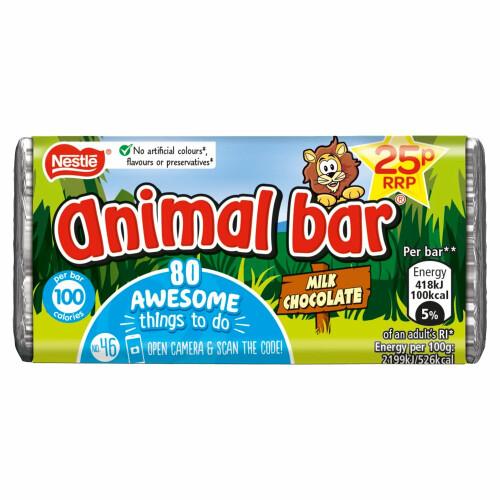 Nestle Milk Chocolate Animal Bar