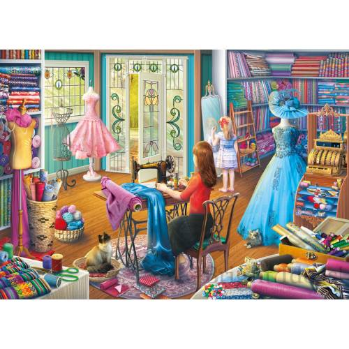 Gibsons The Dressmaker's Daughter 1000pc