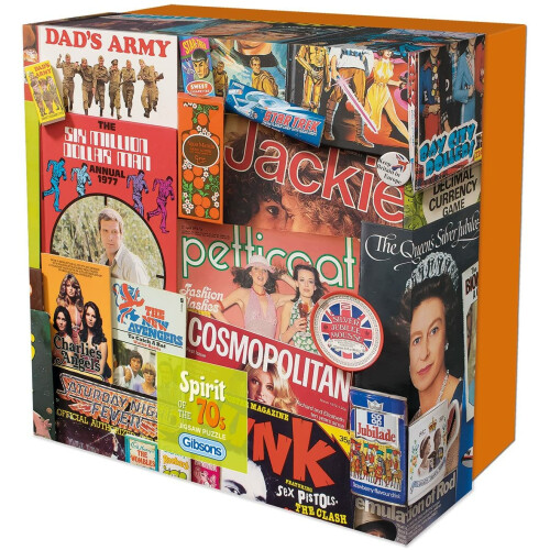 Gibsons Spirit of the 70s 500pc Gift Box