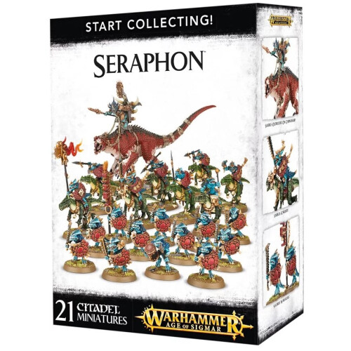 Warhammer Age of Sigmar - Start Collecting! Seraphon