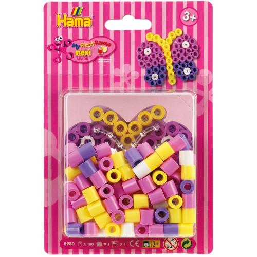 Hama Beads Maxi 8980 Small Butterfly Bead Kit