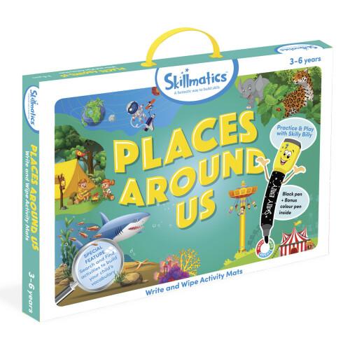 Skillmatics Activity Mats - Places Around Us