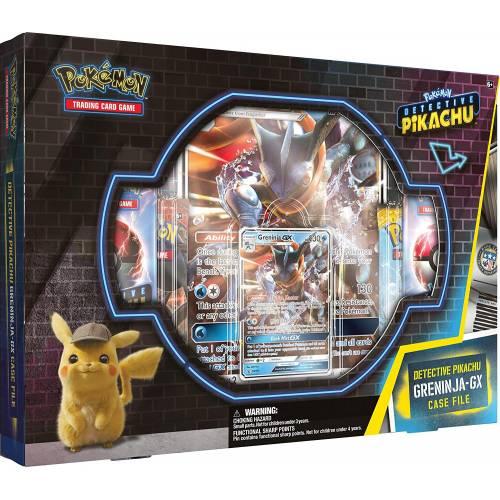Pokemon TCG Detective Pikachu Greninja GX Case File