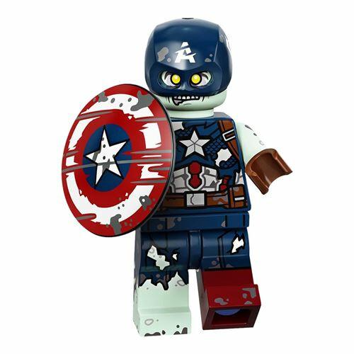 Lego 71031 Marvel Studios Minifigures - Zombie Captain America