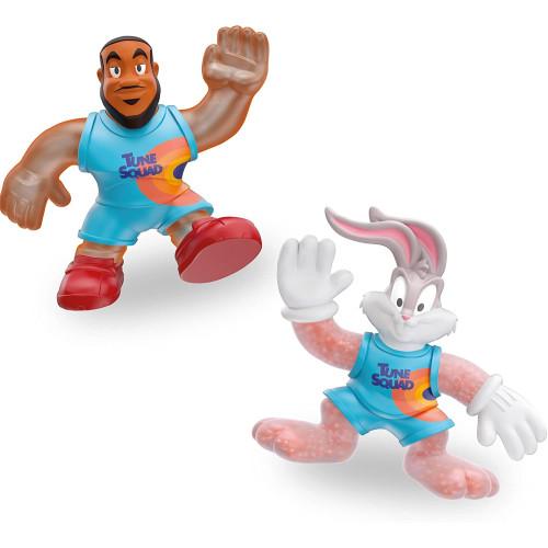 Heroes of Goo Jit Zu - Space Jam - LeBron James & Bugs Bunny