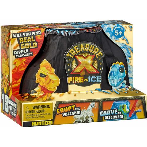 Treasure X Fire VS Ice