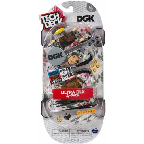 Tech Deck - Ultra DLX 4-Pack - DGK