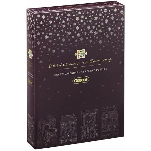 Gibsons Christmas is Coming Jigsaw Calendar