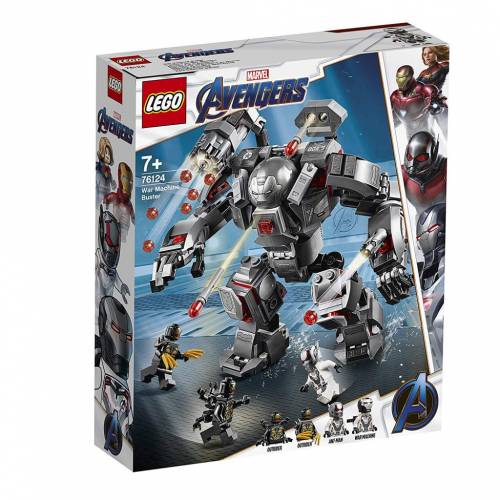 Lego 76124 Super Heroes Avengers War Machine Buster