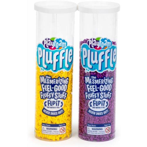 Playfoam Pluffle 2 Pack - Purple & Yellow