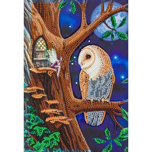 Crystal Art Notebook Kit - Fairy Tales