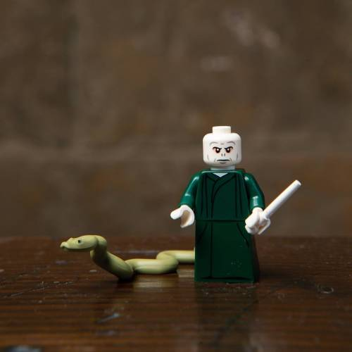 Lego Harry Potter Minifigure Lord Voldemort