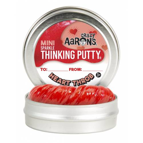 Crazy Aarons Thinking Putty Mini - Heart Throb