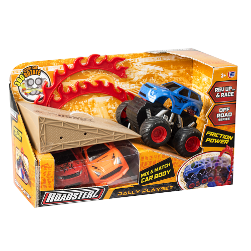 Roadsterz Rally Playset - Blue