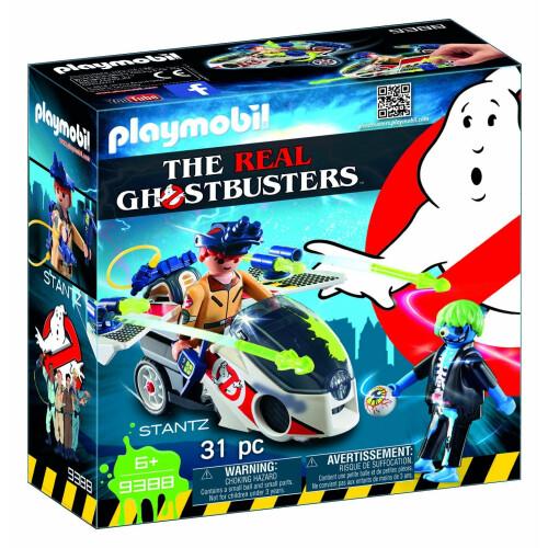 Playmobil Ghostbusters 9388 Stantz With Skybike