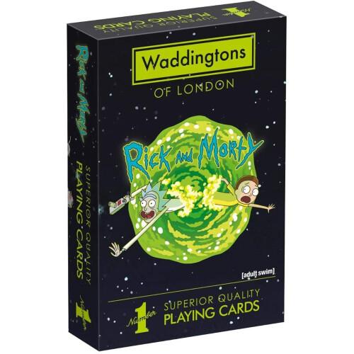 Waddingtons Playing Cards - Rick And Morty