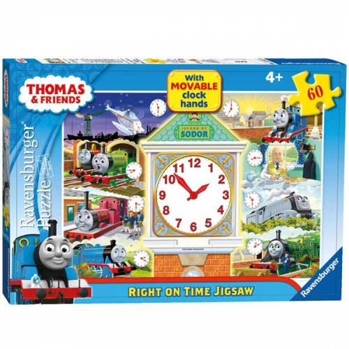 Ravensburger 60pc Puzzle Thomas Right on Time