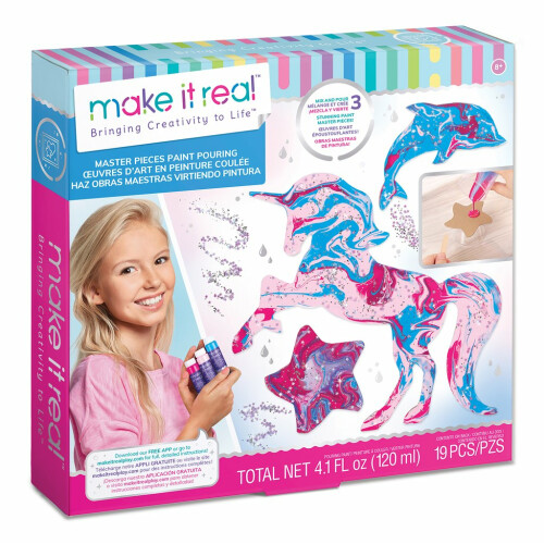 Make It Real - Master Pieces Paint Pouring
